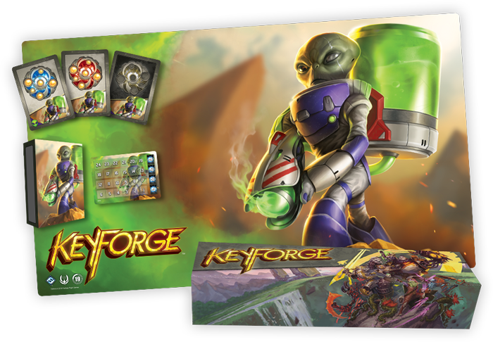 Keyforge OP Kit Mars Promo Playmat Organized Play
