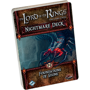 Foundations of Stone Nightmare Deck: LotR LCG - Fantasy Flight Games