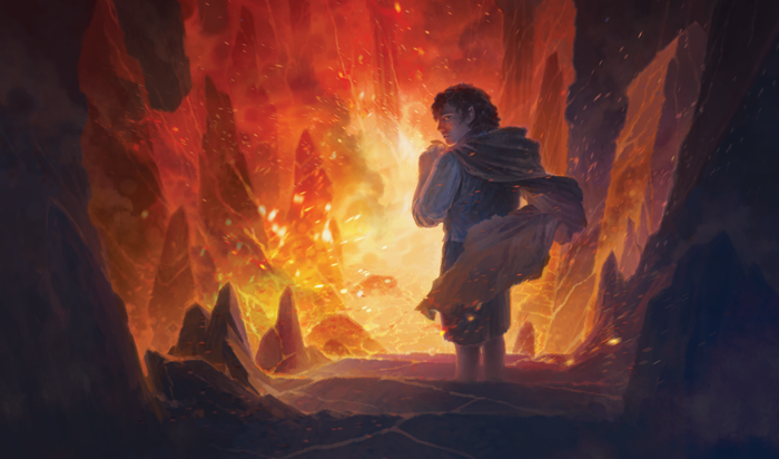 Image result for lotr lcg mountain of fire art