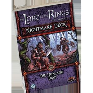 LOTR The Dunland Trap Nightmare Deck -  Fantasy Flight Games