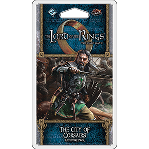 The City of Corsairs Adventure Pack: LOTR LCG -  Fantasy Flight Games