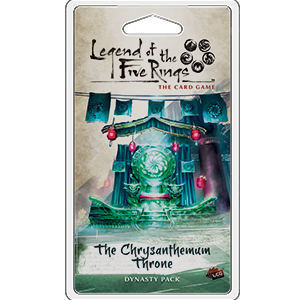 The Chrysanthemum Throne Expansion Pack: L5R LCG -  Fantasy Flight Games