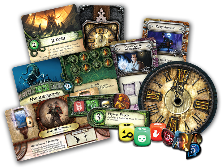 sl05 components | BoardgameShop