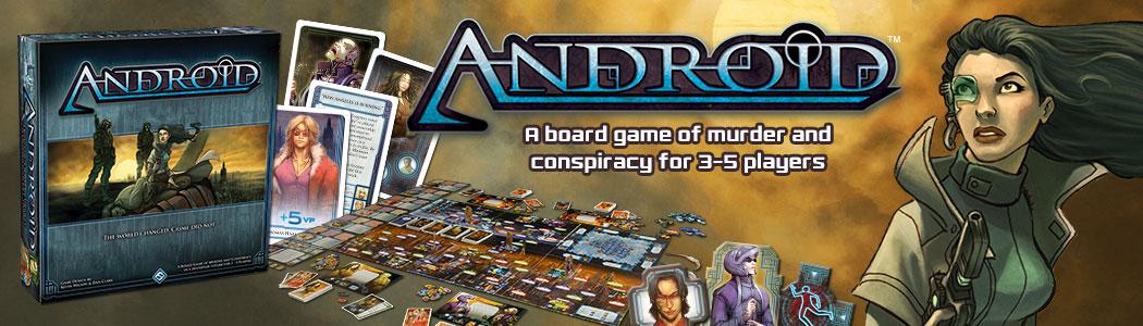 Android - O boardgame mais Blade Runner que existe