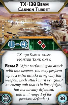 TX-130 Saber Tank - Unit Guide 6