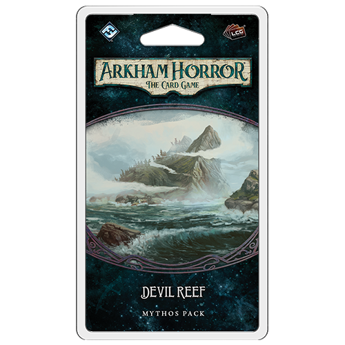 Devil Reef Mythos Pack: Arkham Horror LCG (T.O.S.) -  Fantasy Flight Games