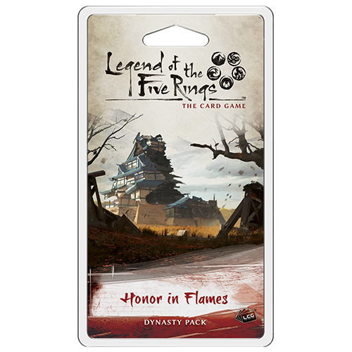 Honor in Flames Dynasty Pack: L5R LCG -  Fantasy Flight Games