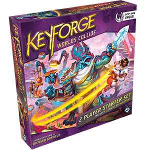 Worlds Collide KeyForge 2 Player Starter Set (T.O.S.) -  Fantasy Flight Games
