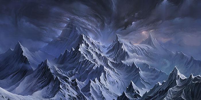[FB solo] Fin d'une vie, commencement d'une autre. Mountainsofangmar