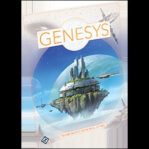 Genesys RPG Game Masters Screen -  Fantasy Flight Games