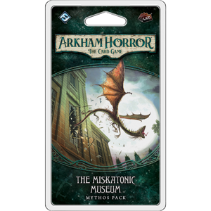 The Miskatonic Museum Mythos Pack: Arkham Horror LCG Expansion (T.O.S.) -  Fantasy Flight Games