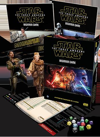 Star Wars: The Force Awakens Beginner Game -  Fantasy Flight Games