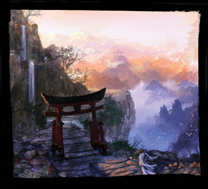 La Leggenda dei CInque Anelli - Montagna Torii