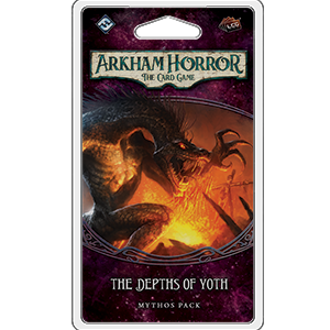 The Depths of Yoth Mythos Pack: Arkham Horror LCG -  Fantasy Flight Games