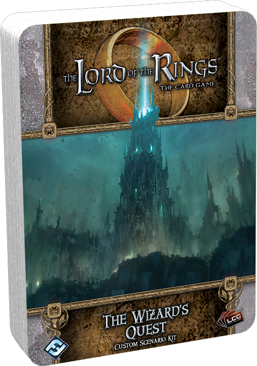 The Wizards Quest: Lord of the Rings LCG (T.O.S.) -  Fantasy Flight Games