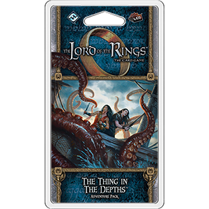 The Thing in the Depths: LOTR LCG -  Fantasy Flight Games
