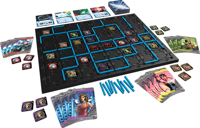 Android: Mainframe The Board Game.