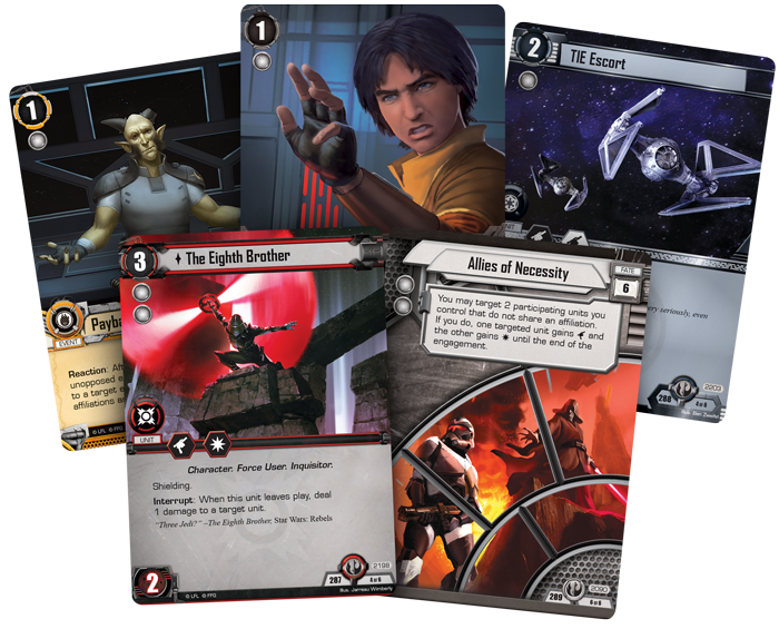 Star Wars The Card Game LCG Force Packs All Expansions Ever Released