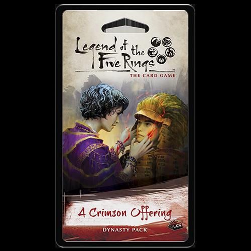 A Crimson Offering Dynasty Pack: L5R LCG -  Fantasy Flight Games