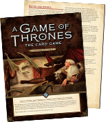 A Game of Thrones LCG: FAQ Update