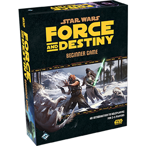 Star Wars: Force and Destiny Beginner Game -  Fantasy Flight Games