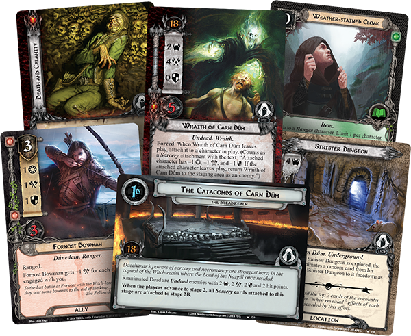 Lord of the Rings LCG The Dread Realm Adventure Pack