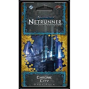 Chrome City Data Pack -  Fantasy Flight Games