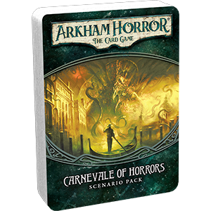 Carnevale of Horrors Scenario Pack: Arkham Horror: POD (T.O.S.) -  Fantasy Flight Games