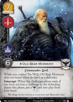 [JCE/LCG] Le Trône de Fer/A Game of Thrones 2nd Edition - Page 6 Old-bear-mormont