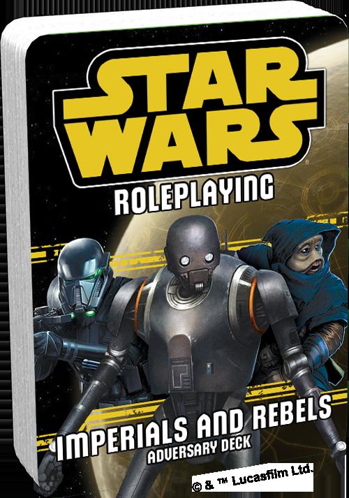 Star Wars: Roleplaying - Adversary Decks