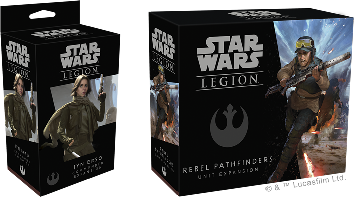 Star Wars Legion - Rebel Expansions