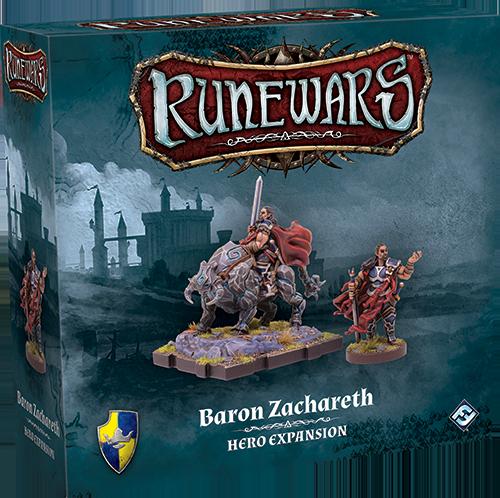 Runewars: Baron Zachareth Hero Expansion
