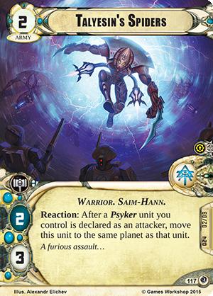 [Cycle Planetfall] Une dernière manoeuvre - 6ème warpack  Talyesins-spiders