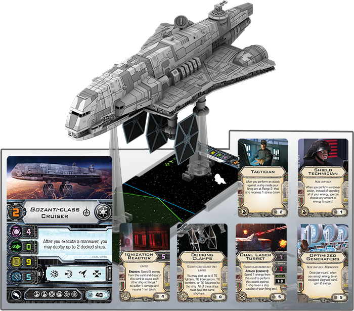 [Epic] IMPERIAL ASSAULT CARRIER - NEWS !!! ONLY !!! Gozanti-build