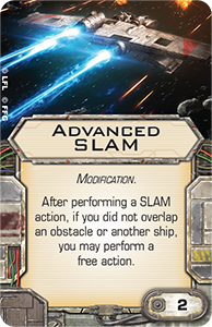 [X-wing] FAQ, erratas & Règles de tournois Advanced-slam