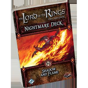 Fantasy Flight Games: Shadow and Flame Nightmare Deck: LotR LCG