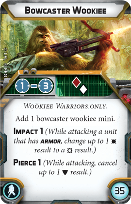 Wookiee Warriors- Unit Guide 3
