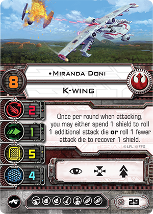 Miranda Doni K-Wing Ship