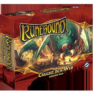 Caught in a Web Scenario Pack: RuneBound 3rd Edition -  Fantasy Flight Games