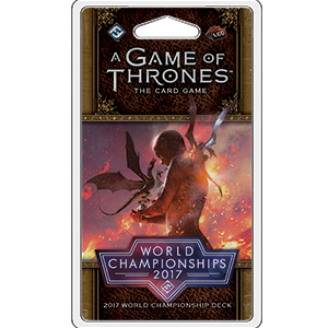 2017 Joust World Championship Deck: A Game of Thrones LCG -  Fantasy Flight Games