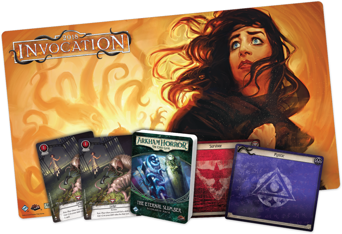 Arkham Horror: The Card Game Invocation Event
