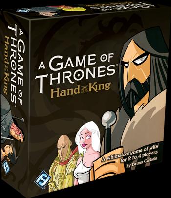 [Jeu de société][Jeu de cartes] Hand of the King/Main du Roi - Bruno Cathala Va100_box_left_350