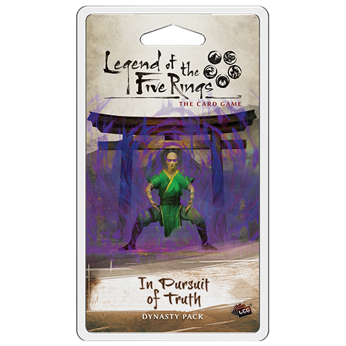 In Pursuit of Truth Dynasty Pack: L5R LCG -  Fantasy Flight Games