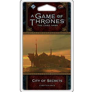 City of Secrets Chapter Pack: A Game of Thrones LCG 2nd Ed -  Fantasy Flight Games