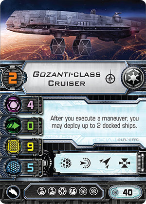 [Epic] IMPERIAL ASSAULT CARRIER - NEWS !!! ONLY !!! Swx35-gozanti-class-cruiser