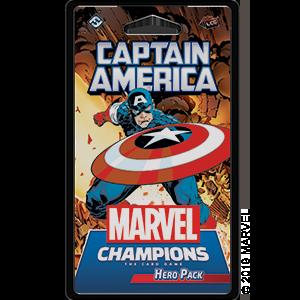 Marvel Champions: Captain America Hero Pack -  Fantasy Flight Games