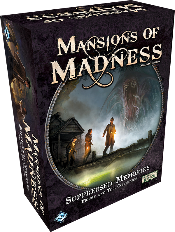 Suppressed Memories Figure and Tile Collection: Mansions of Madness 2nd Edition (T.O.S.) -  Fantasy Flight Games