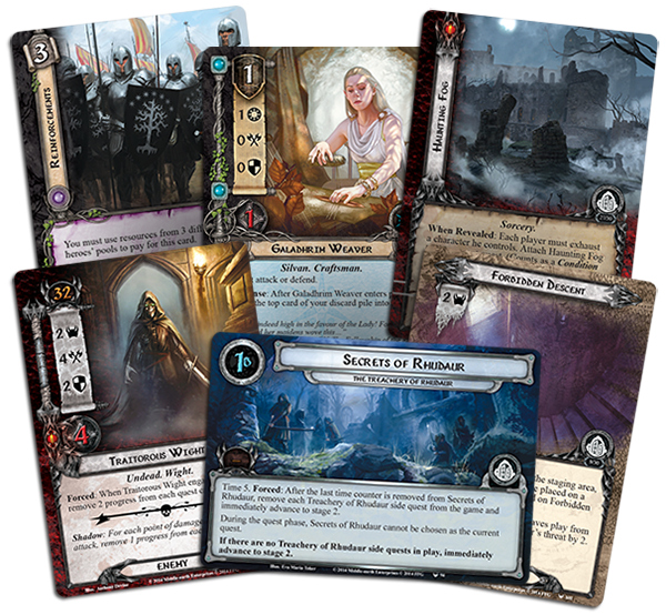 Image result for The Lord of the Rings: The Card Game – The Treachery of Rhudaur