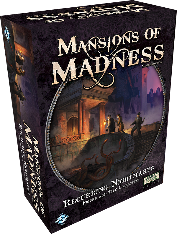 Recurring Nightmares Figure and Tile Collection: Mansions of Madness 2nd Edition (T.O.S.) -  Fantasy Flight Games
