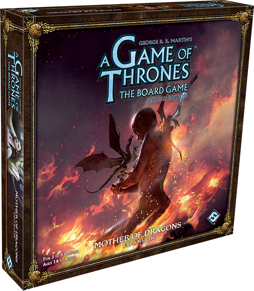 A Game of Thrones: Board Game - Mother of Dragons